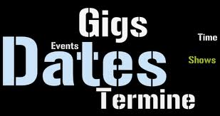 Navigation Termine - Dates - Gigs